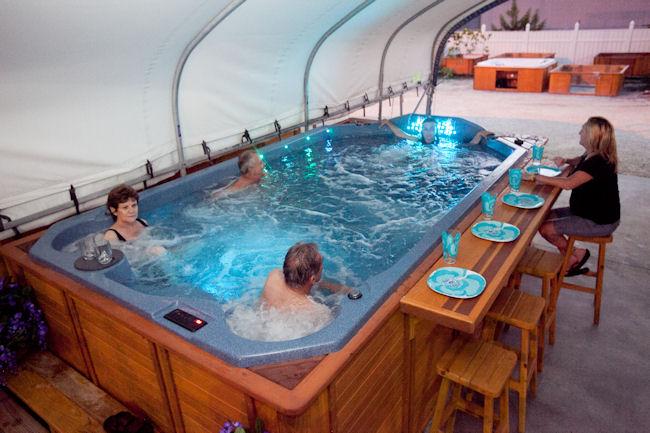 swim spa manufacturers